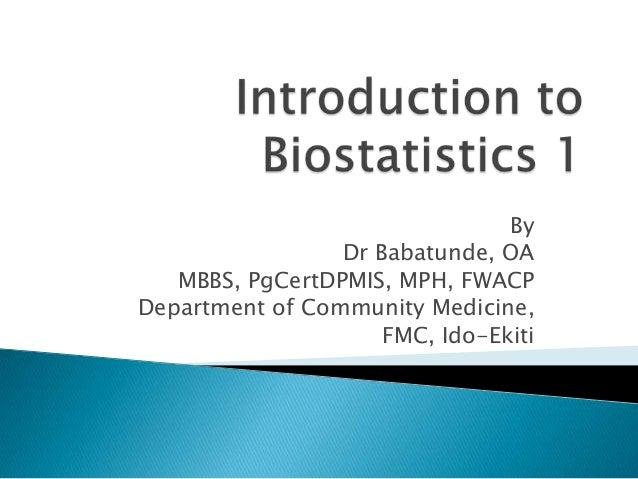 Intro biostat1&2
