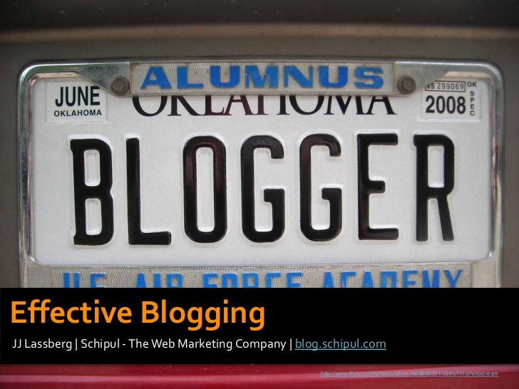 Effective Blogging: Strategy & Top Tips