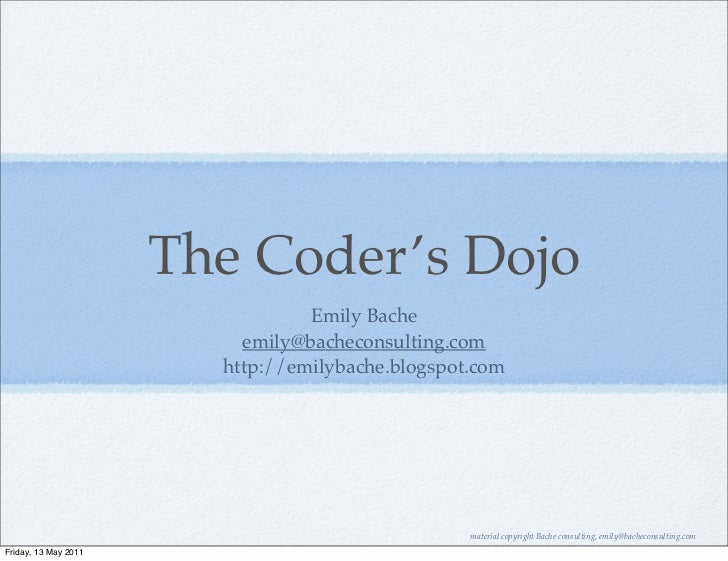 Teaching and Learning TDD in the Coding Dojo