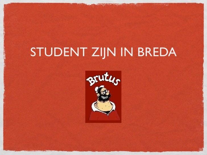 Studeren in Breda