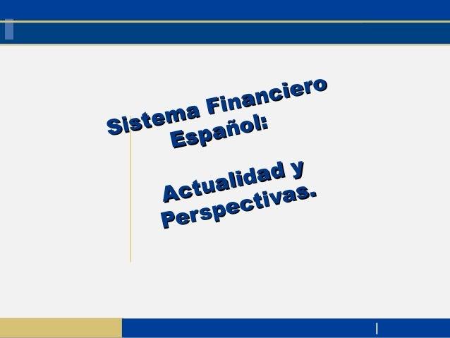 SISTEMA FINANCIERO: INTROD. Y ESTRUCTURA