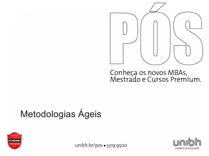 Metodologias Ágeis
