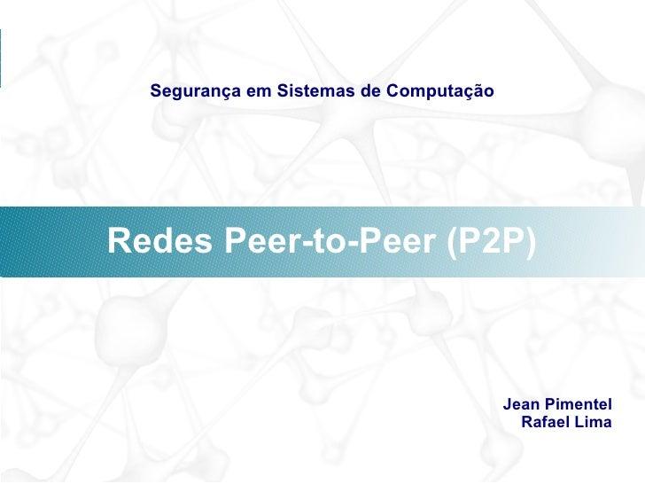 Introdução ao P2P