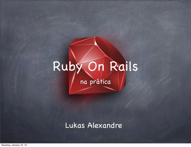 Introdução Ruby On Rails