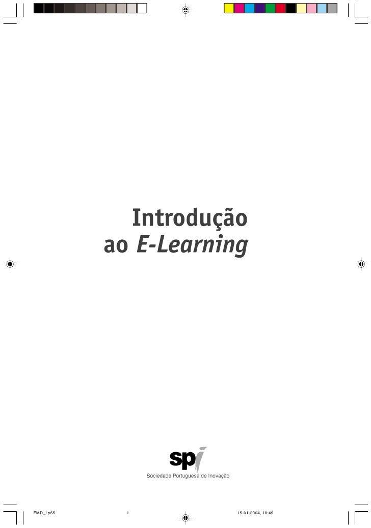 Introducaoaoe Learning Formando