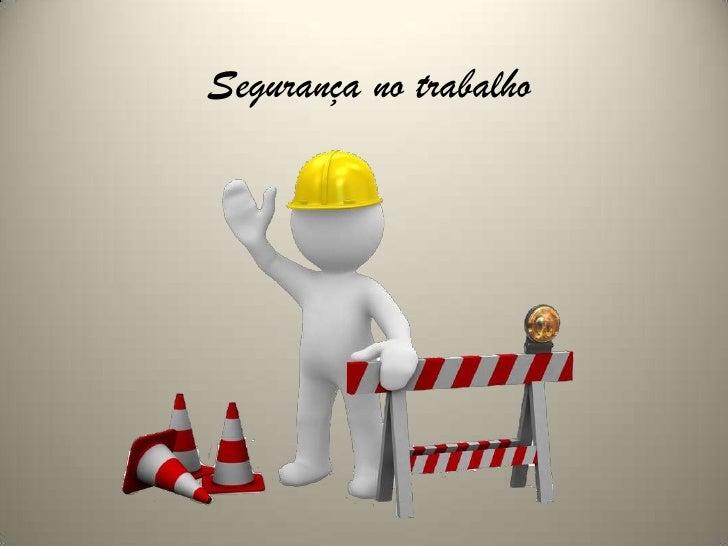 Segurança no trabalho