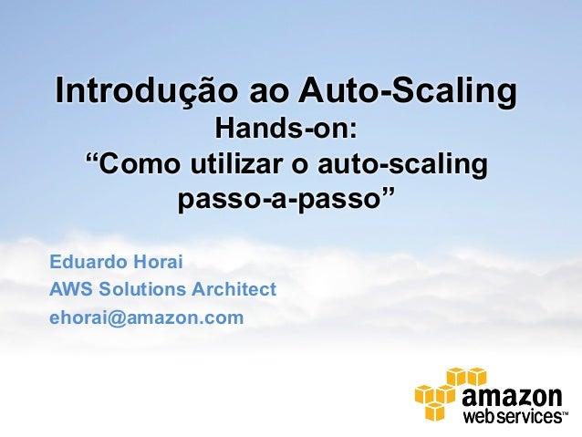Introdução ao Auto Scaling