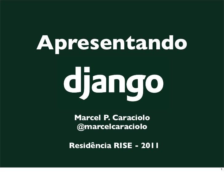 Introdução ao Django