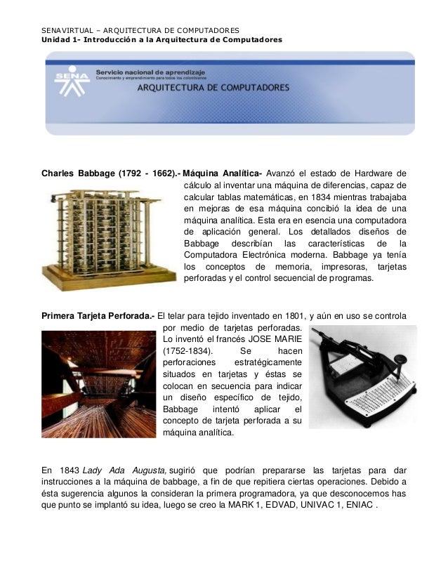 Introducccion a la arquitectura de computadores for Arquitectura de computadores