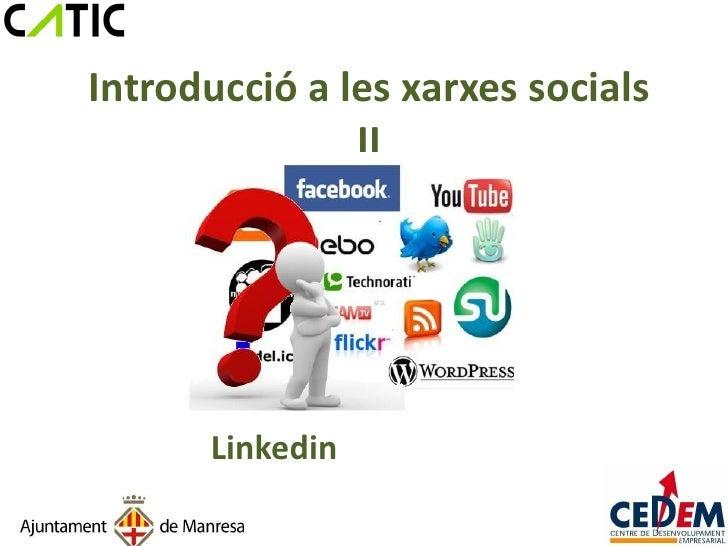 Introducció a les xarxes socials cedem ii