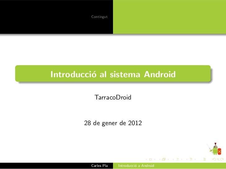 Introducció a Android