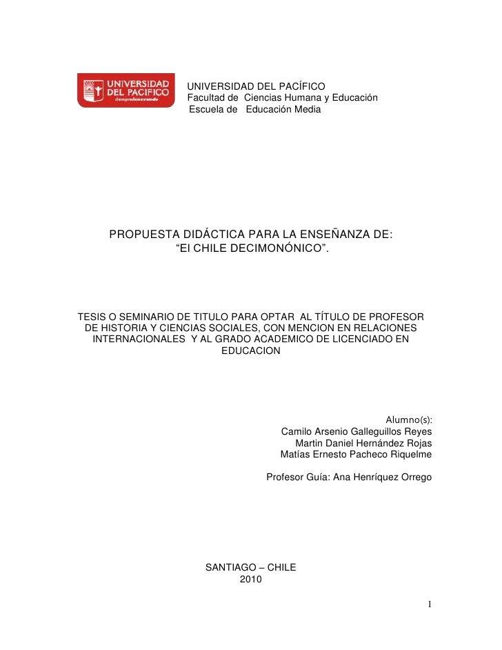 114300-114300  UNIVERSIDAD DEL PACÍFICO<br />  Facultad de  Ciencias Humana y Educación<br />   Escuela de   Educación Med...