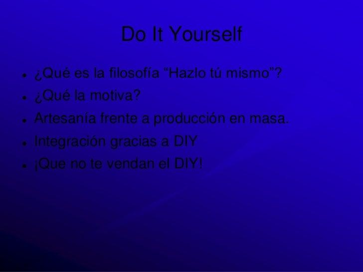 Introducción DIY