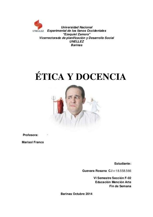 """Universidad Nacional  Experimental de los llanos Occidentales  """"Ezequiel Zamora""""  Vicerrectorado de planificación y Desarr..."""