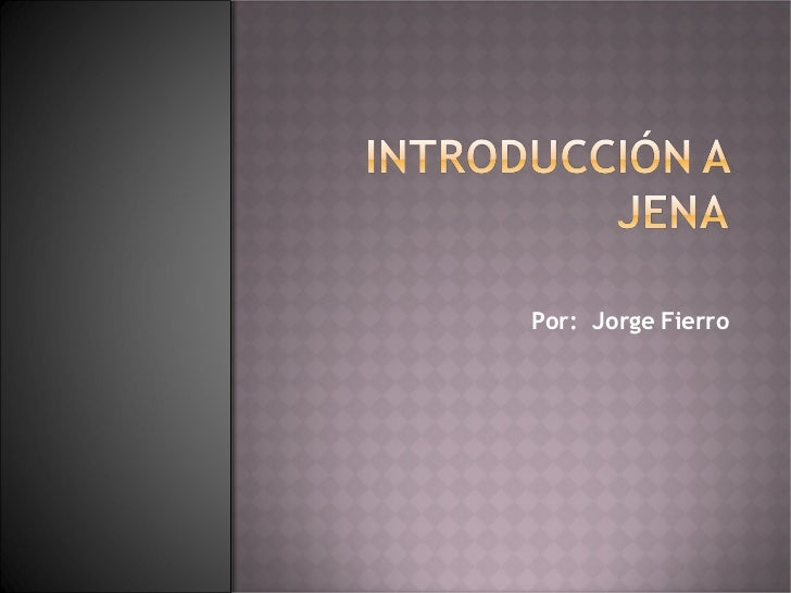 Introduccion Jena