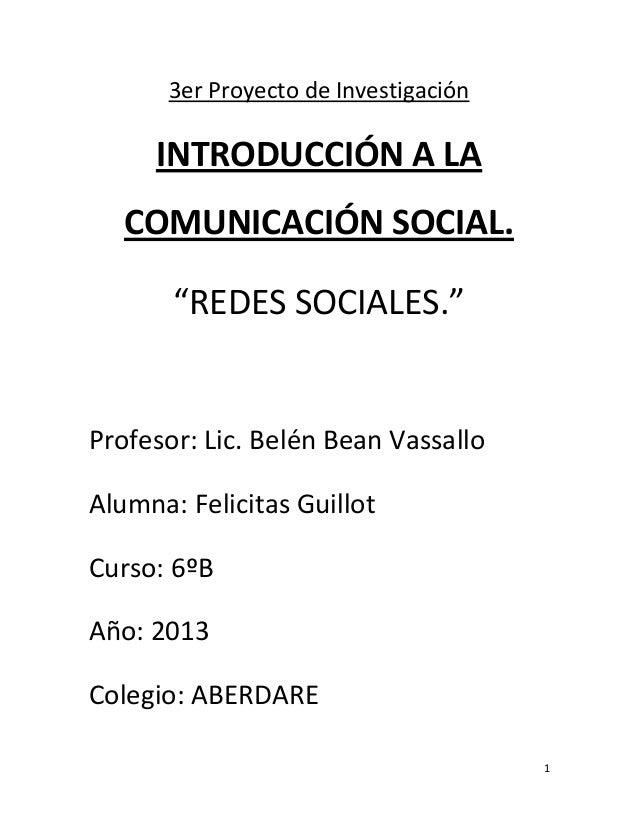 Introducción a la comunicación social monografia.
