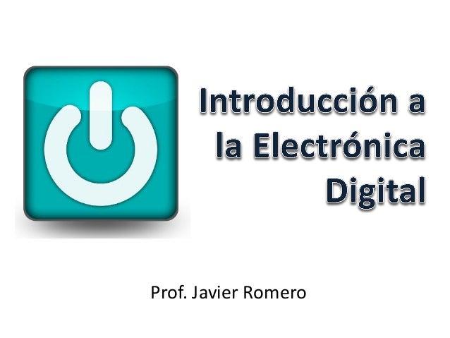 Introducción a la electrónica digital