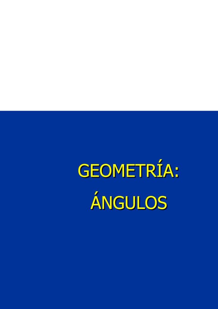 Introducción a La Geometria 8º BáSico