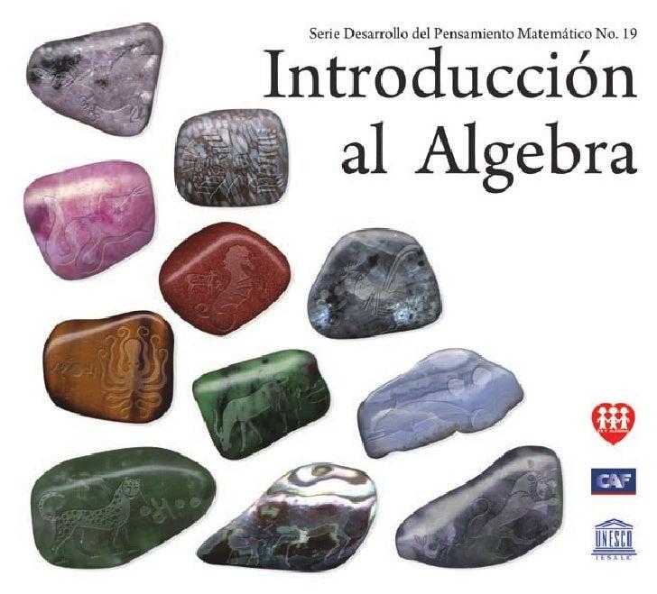 Introducción al Algebra