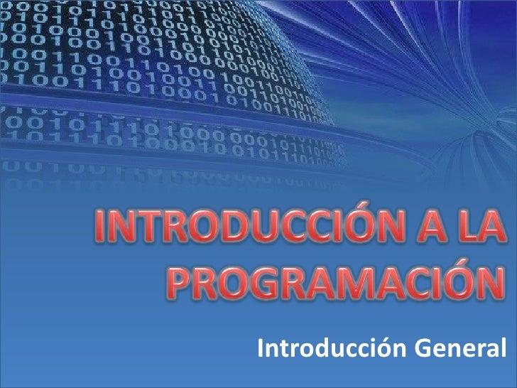 Introducción a la programación - II semestre