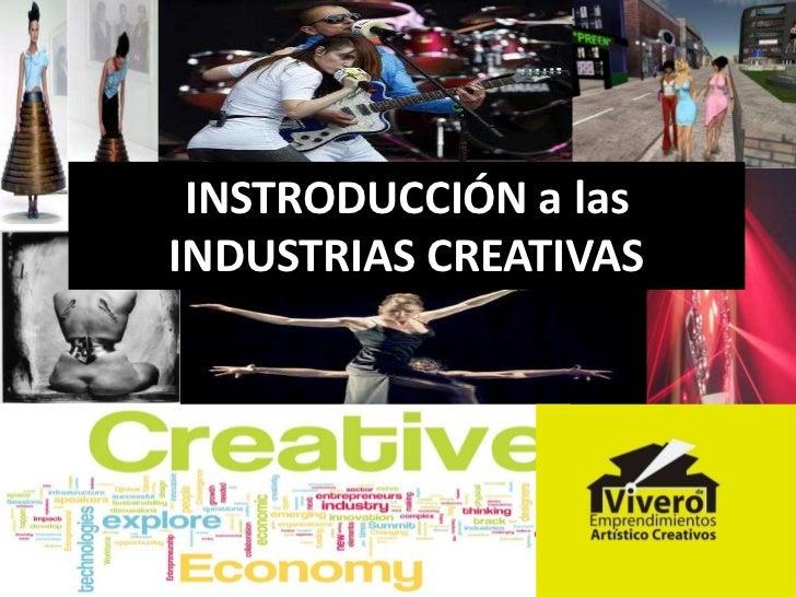Introducción a las industrias creativas