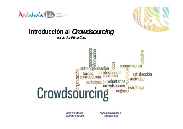 Introducción al crowdsourcing
