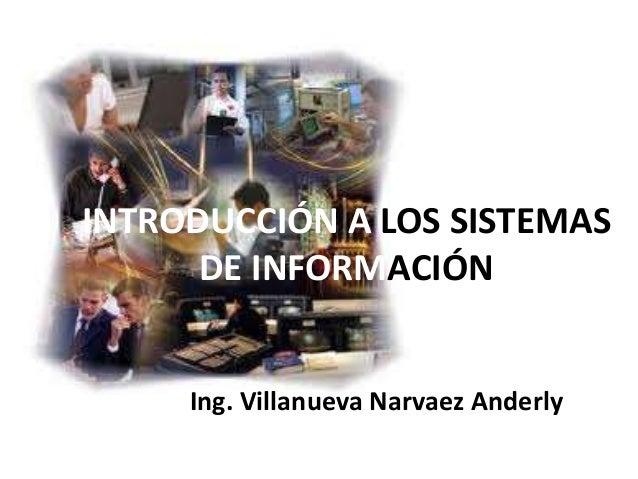 Introducción a los sistemas de información 1