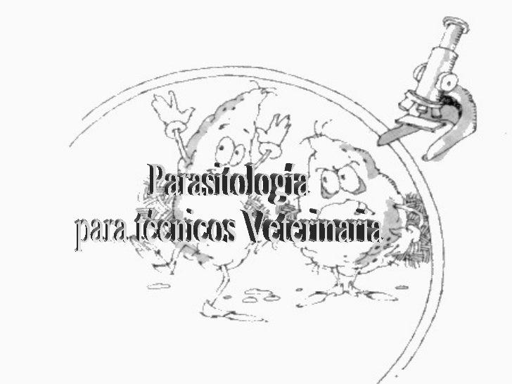 Introducción a parasitologìa