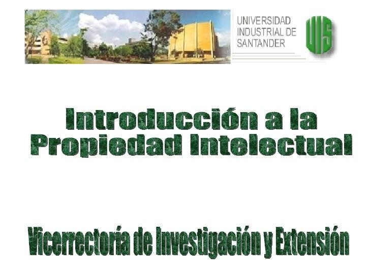 Introducción propiedad intelectual ja20070907