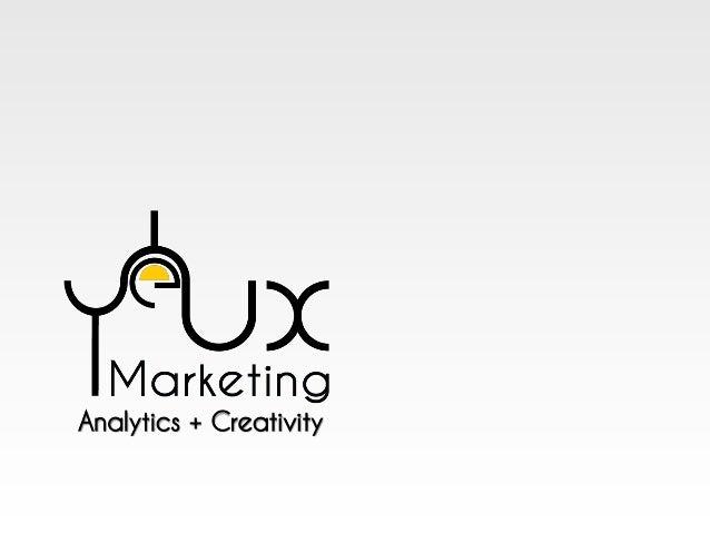 Analytics + Creativity