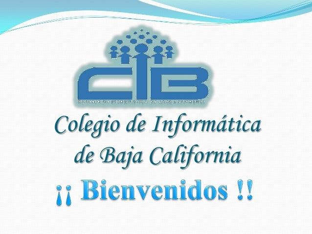 Colegio de Informática de Baja California