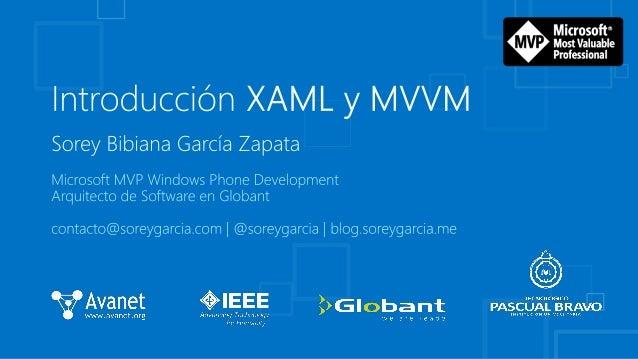 Introducción a XAML y MVVM