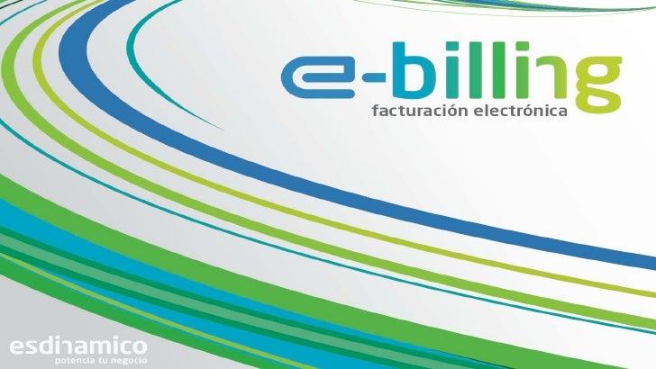 Factura Electronica e-billing