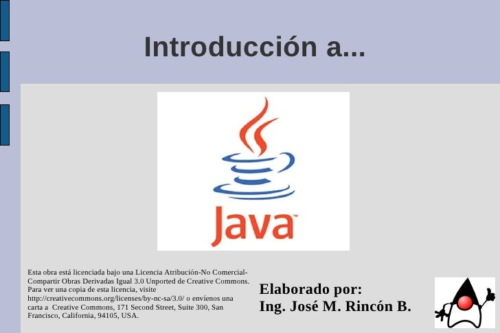 Introducción a Java