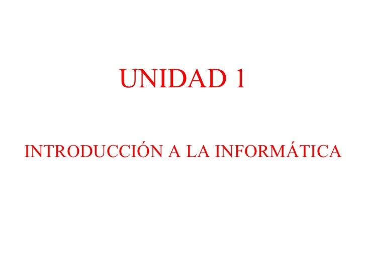 Introduccionala informatica