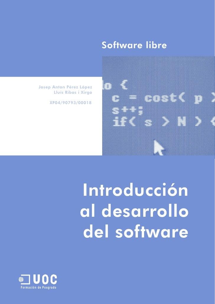 Introduccion al desarrollo de software