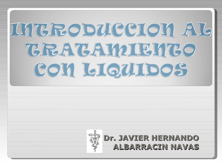 Dr. JAVIER HERNANDO ALBARRACIN NAVAS