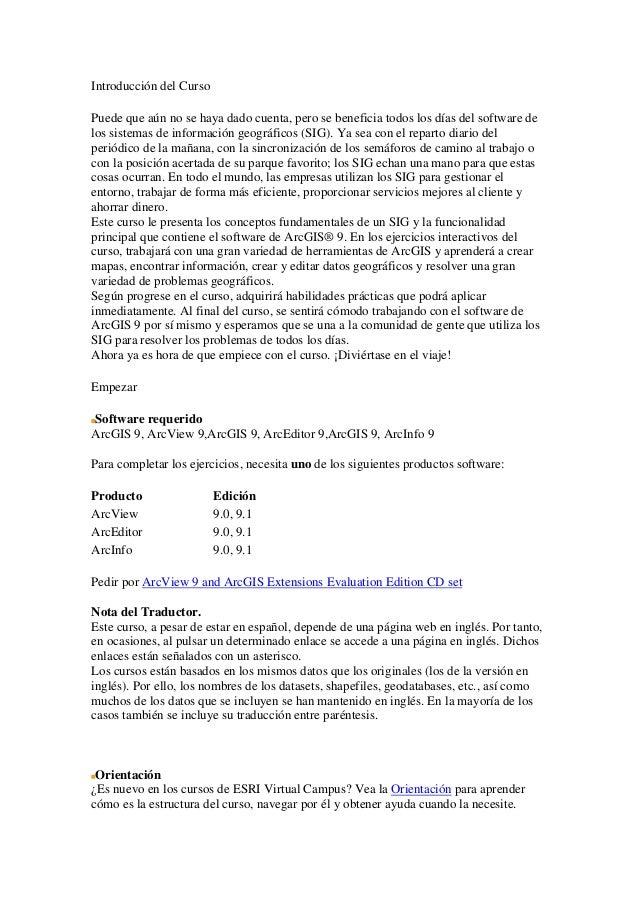 Introducción arcgis 9