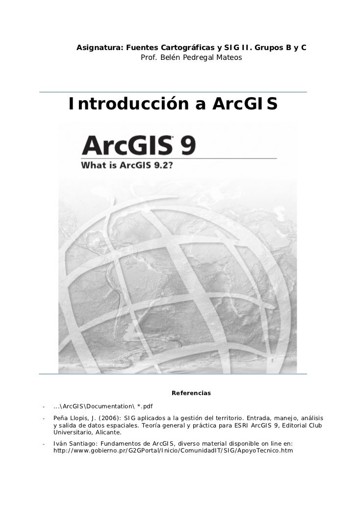 Introduccion argisbp