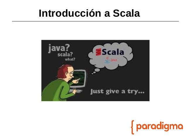 Introducción a scala