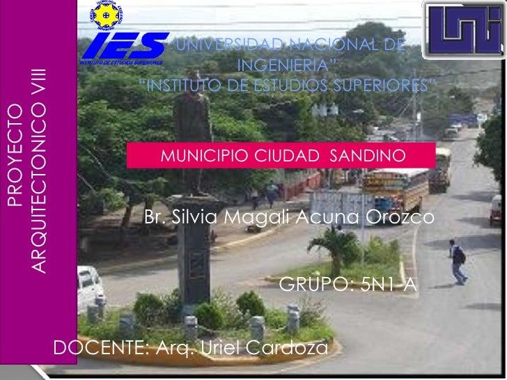 Introduccion Municipio De Ciudad Sandino