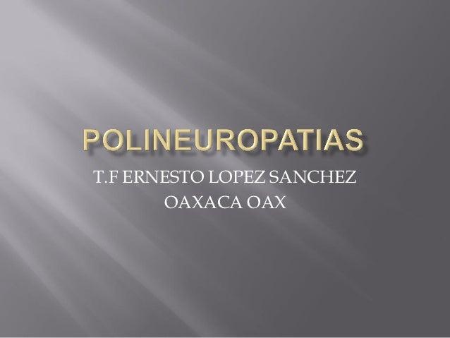 Introduccion polineuropatias y polineuropatia porfirinica