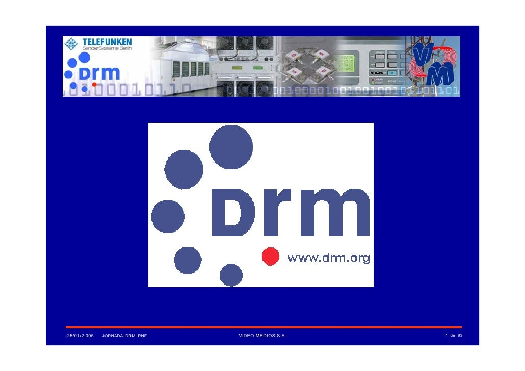 Introduccion al Sistema Digital Radio Mondiale (DRM)