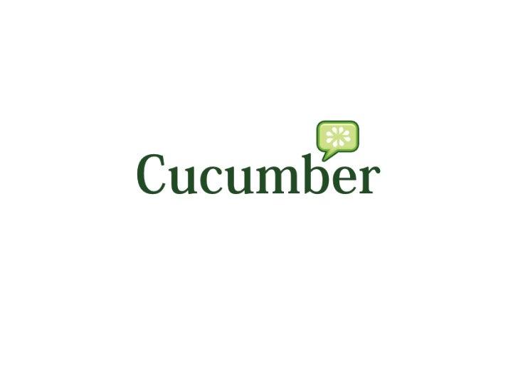 Introduce cucumber