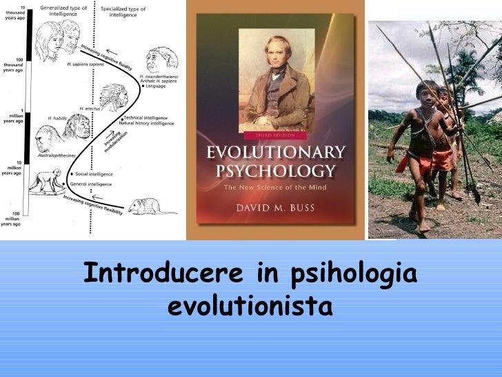 Introducere îN Psihologia EvoluţIonistă 2
