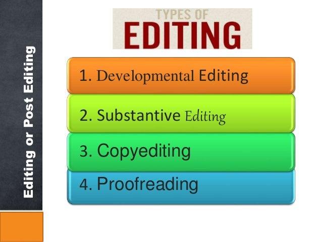 Copy editing techniques