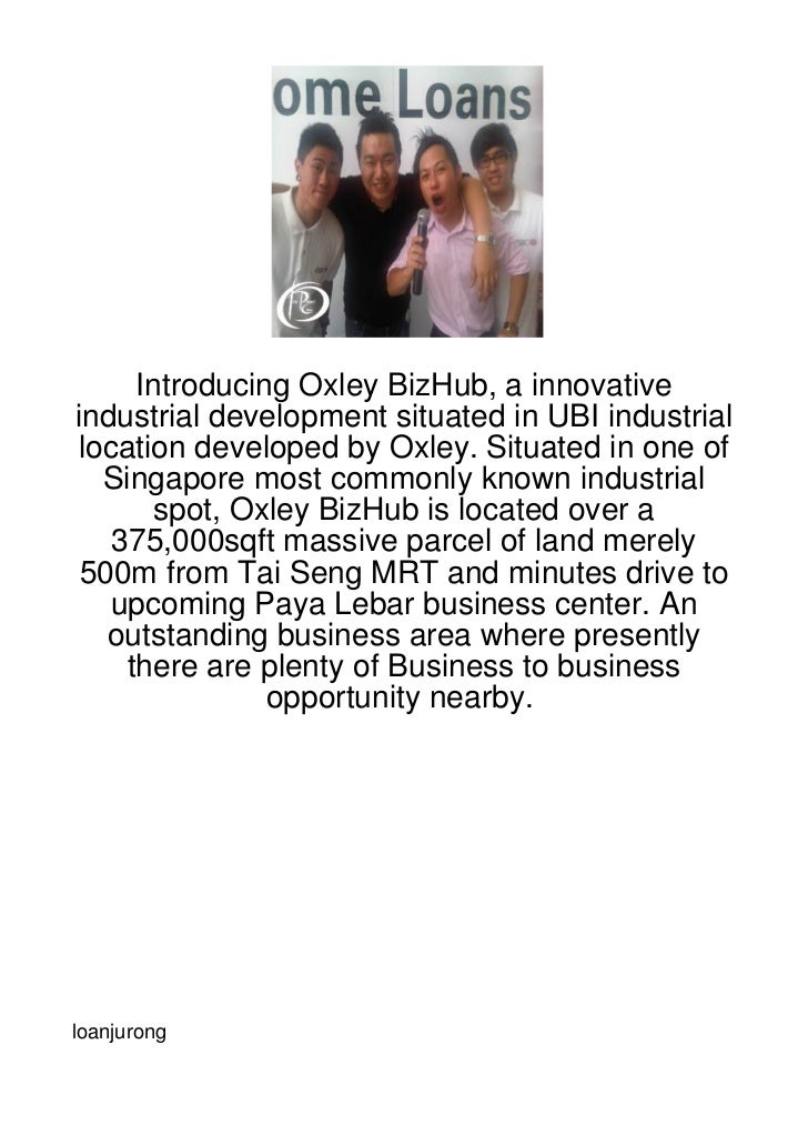 Introducing Oxley BizHub, a innovativeindustrial development situated in UBI industriallocation developed by Oxley. Situat...