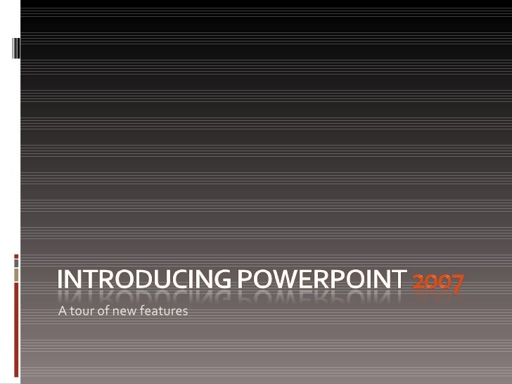 introducing power point