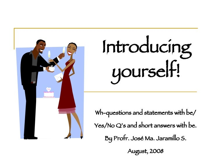 introduce yourself short paragraph