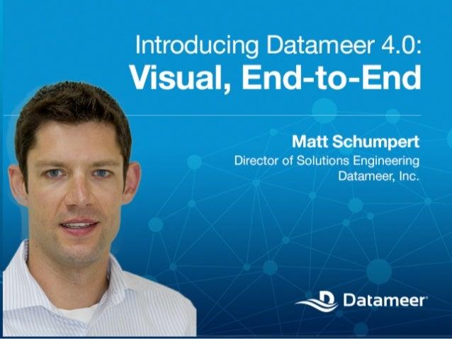 Webinar - Introducing Datameer 4.0: Visual, End-to-End